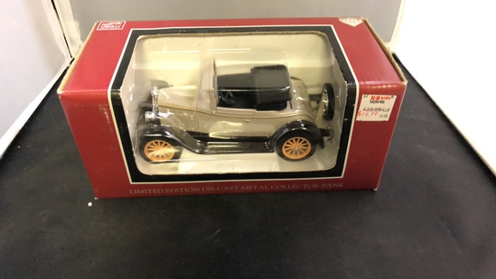 1928 Chevrolet National AB Die-Cast Bank.
