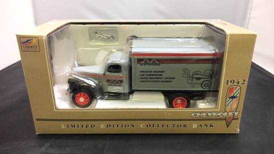 1942 Chevrolet Limited Exdition Die-Cast Bank.