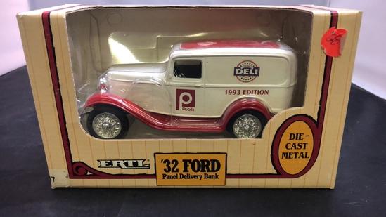 1932 Publix Deli Ford Panel Delivery Die-Cast Bank
