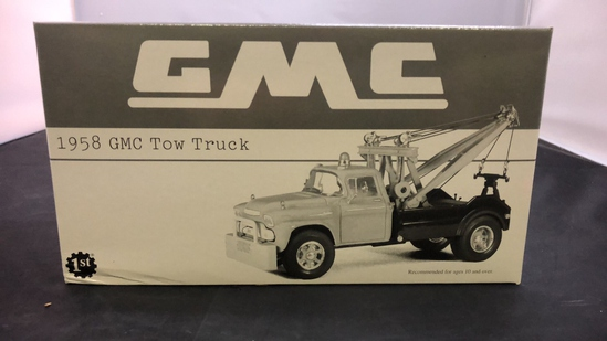 1958 GMC Tow Truck Die-Cast Replica