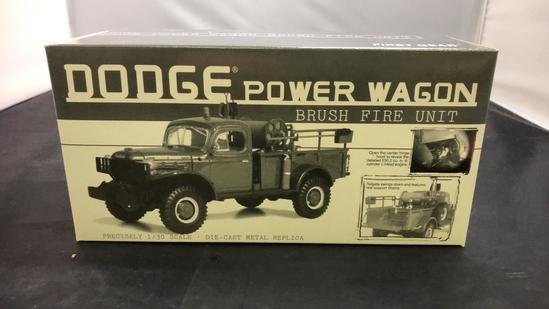 Dodge Power Wagon Brush Fire Unit Die-Cast Replica.