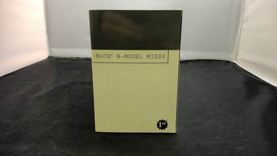 1960 Mack B-Model Mixer.