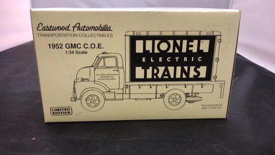 1952 GMC C.O.E. Die-Cast Replicas.