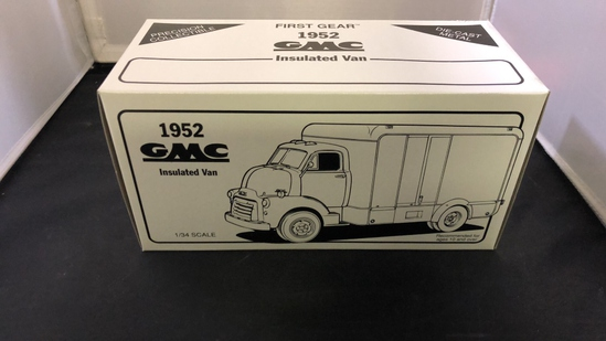 1952 GMC Insulated Van Die-Cast Replica.