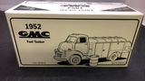 1952 GMC Fuel Tanker Die-Cast Replica.