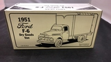 1951 Ford F-6 Dry Goods Van Die-Cast Replica.