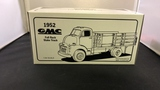 1952 GMC Full Rack Stake Truck Die-Cast Model.