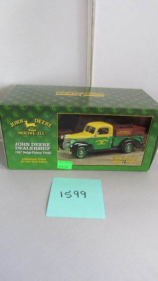 1947 Dodge Pickup Truck Die-Cast Replica.