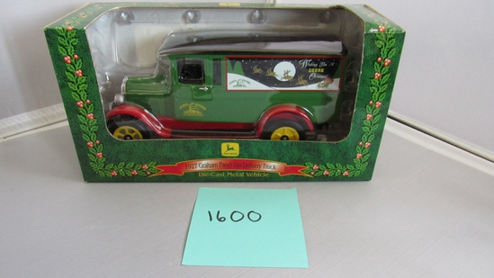 1927 Graham Panel Van Delivery Truck, Die-Cast Replica.
