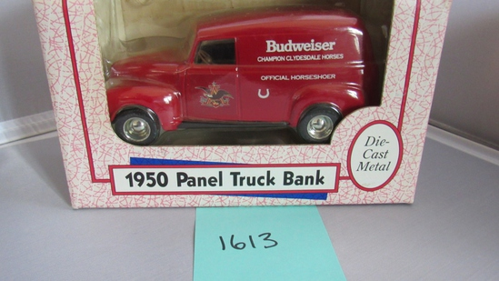 1950 Panel Truck Bank Die-Cast Replica.