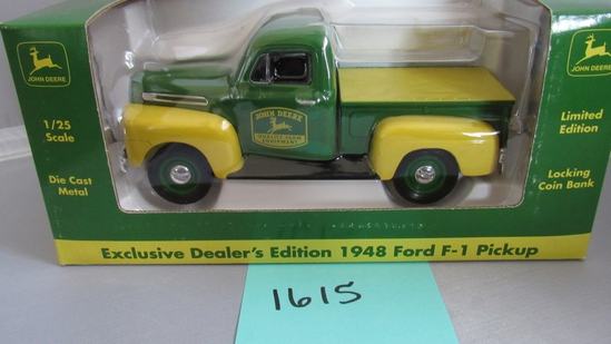 1948 Ford F-1 Pickup, Die-Cast Replica.