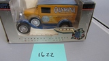 1929 Ford Model A Olympia Panel Delivery Van, Die-Cast Replica.