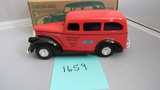 1946 Chevy Suburban Die-Cast Replica.