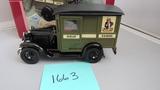 1929 Model A Ford US Postal Truck. Die-Cast Replica.