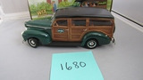 1940 Ford Woody, Collector Series, Die-Cast Replica.