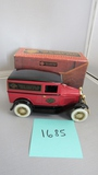 1931 Panel Delivery Bank, Harley Davidson Limited Edition Bank, Die-Cast Replica.
