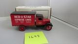 1931 Hawkeye Motor Truck Bank, Die-Cast Replica.