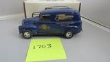 1950 Chevy Panel Truck, Die-Cast Replica.