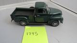 1953 Chevrolet Pickup Truck, Die-Cast Replica.