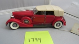 1934 Packard, Die-Cast Replica.