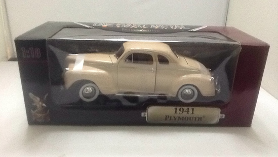 1941 Plymouth Die-Cast Replica.