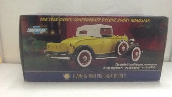 1932 Chevy Confederate Deluxe Sport Roadster Die-C
