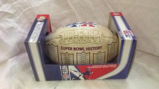 Super Bowl XL 40th Anniversary Football