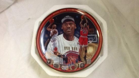 Michael Jordan 1998 Championship Plate