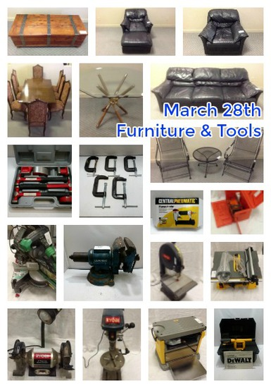 Weekly Furniture Auction!