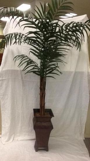 Large Faux Tropical Plant