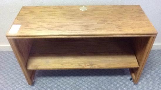 Desk w/ Folding Internal Shelf