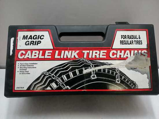 Magic Grip Cable Link Tire Chains