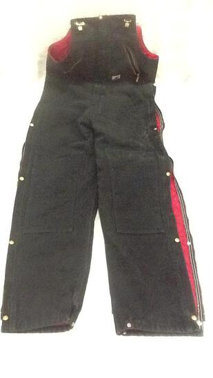 Carhart Black Overalls 34 x 34
