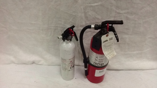 FIRE EXTINGUISHER- QTY 2 (Red & White)