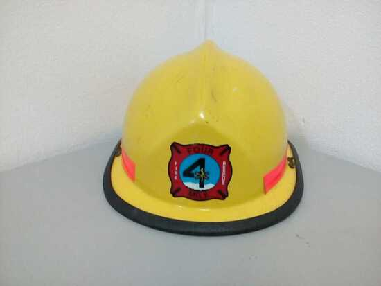 Four Mile Fire Rescue Helmet