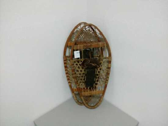Antique Snow Shoes 14 X 30