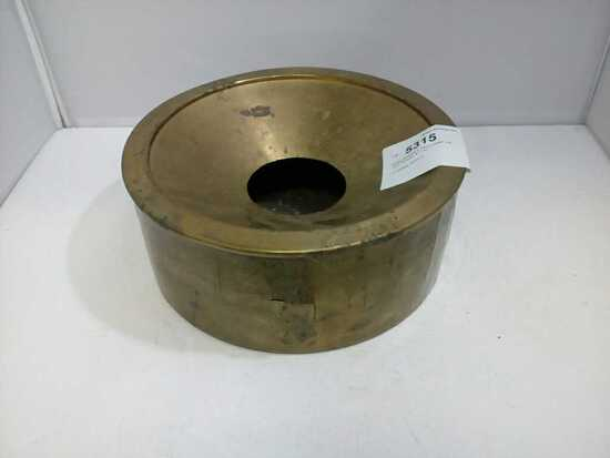 Brass Spitoon w Removable Lid
