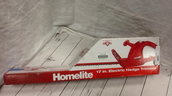 Homelite 17in Electric Hedge Trimmer