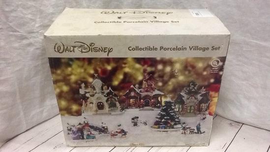 Disney Collectible Porcelain Village Set