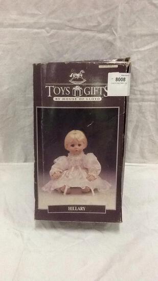 """House of Lloyd """"Hillary"""" Doll"""