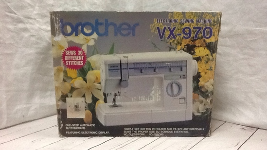Brother Sewing Machine VX-970