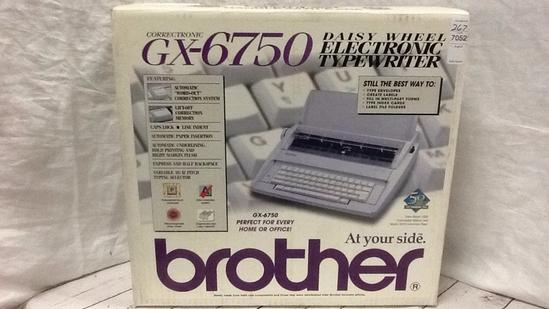 Brother Electronic Typewriter GX-6750