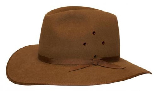 HAT 1616FW1 - COOBER PEDY FAWN HAT SZ56