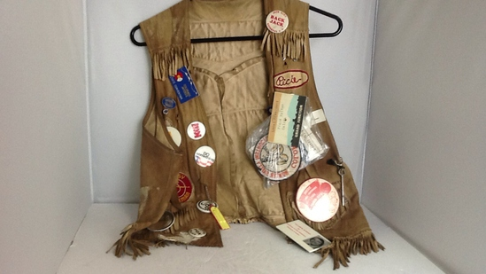 Salida Colorado Jaycees Leather Vest