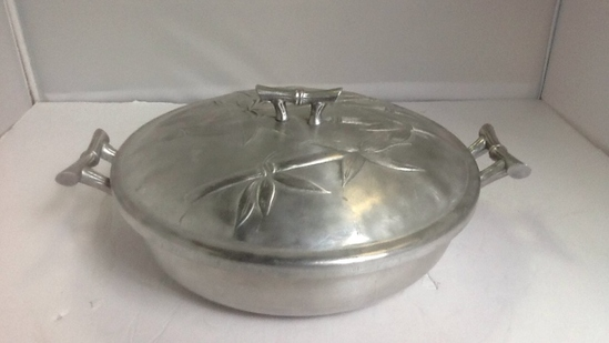 Forger Aluminum Serving Dish with Lid