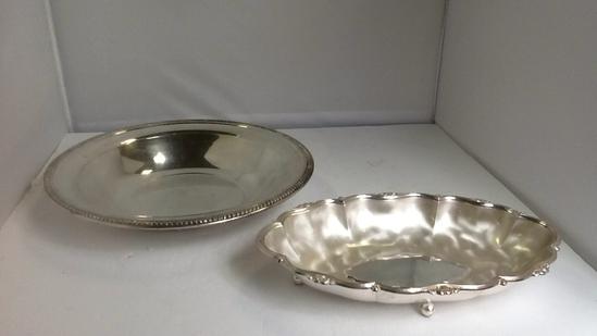 WMF IKORA Silver Plate Dish / Silver Serving Dish