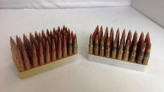 Group of 7.62mm Ammo (100 rounds)