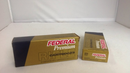 Federal Premium 223 REM. 2 boxes of 20