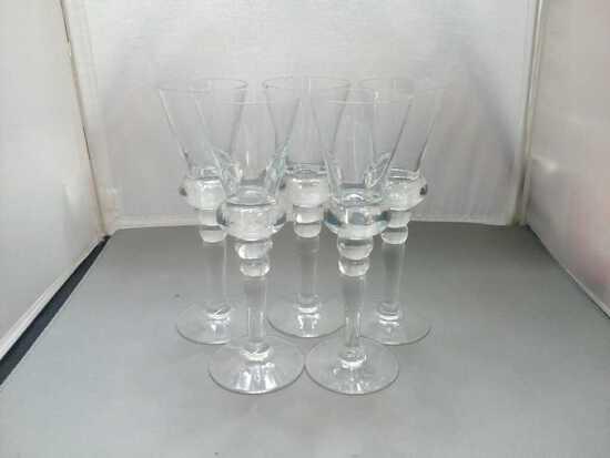 (5) Piece Bar Glassware