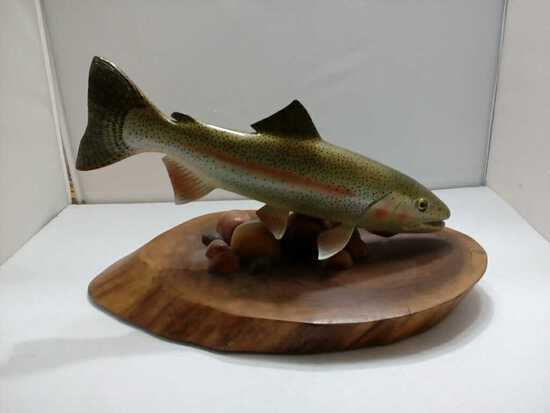 Trout Carving